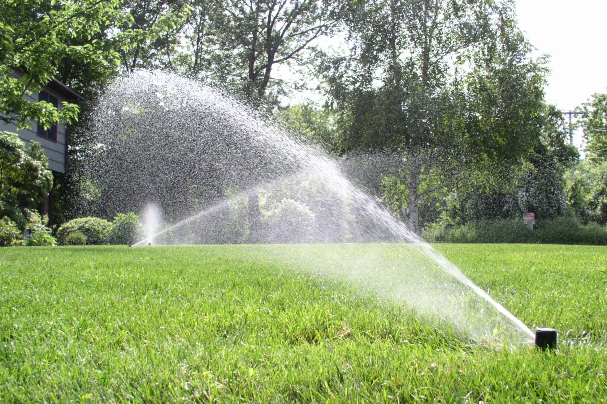 New Sprinkler Systems Install DIY Lawn Sprinkler System Kits